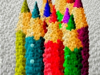 color-pencils-cube-mosaic