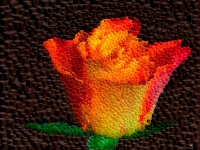 rose-orange-cube-mosaic