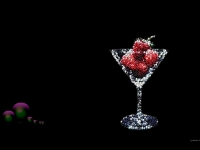 strawberries-glass-drink-balls-mosaic